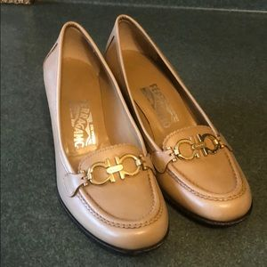 Ferragamo heeled loafer